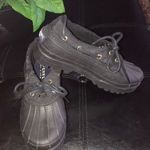 A fabulous pair of Sperry rain low boot